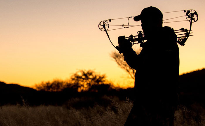 Bow hunting at Aru Hunting Safaris