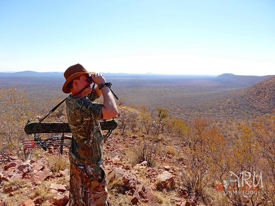 Bow hunting aru hunting safaris for Bow fishing games