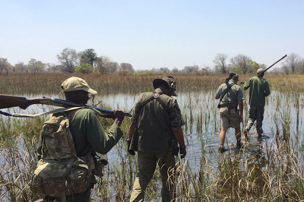 African Hunting Safaris on the Zambezi at Aru Hunting Safaris