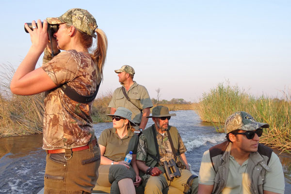 Hunting Safaris on the Zambezi at Aru Hunting Safaris