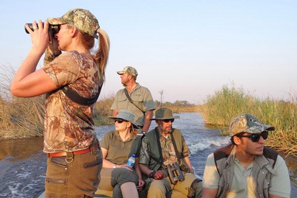 Hunting Safaris on the Zambezi at Aru Hunting Safaris