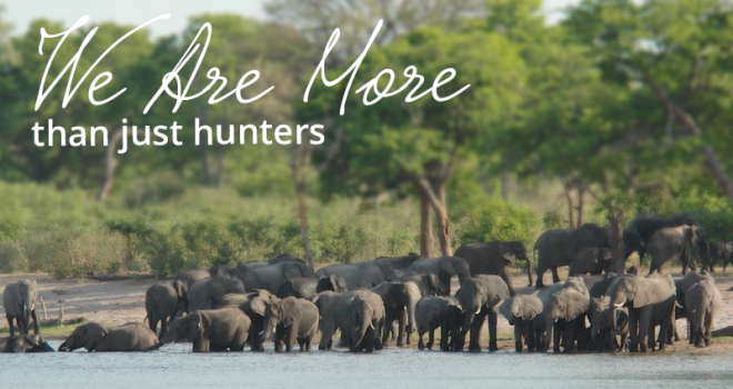 We are more than just hunters